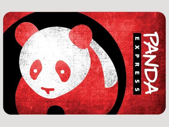 Panda express gift card prize