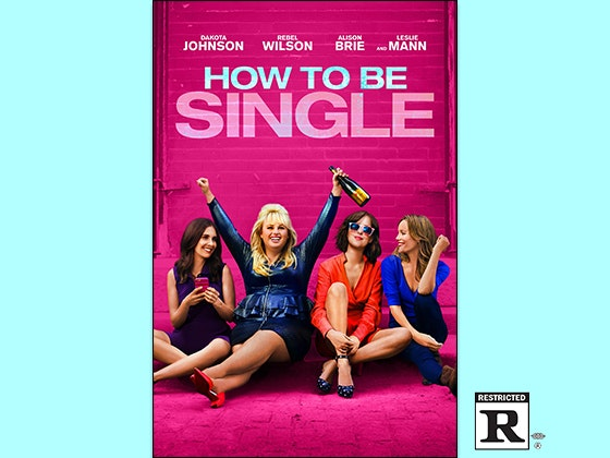 How To Be Single on Digital HD sweepstakes