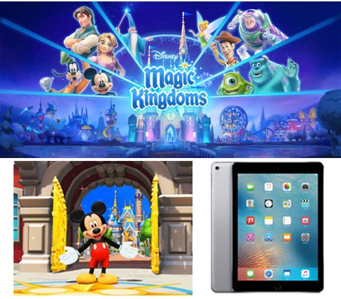 Win an Apple iPad Pro & Disney Magic Kingdoms game sweepstakes