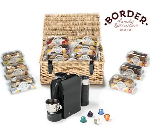 Win 2 x Border hampers & Nespresso coffee machine sweepstakes