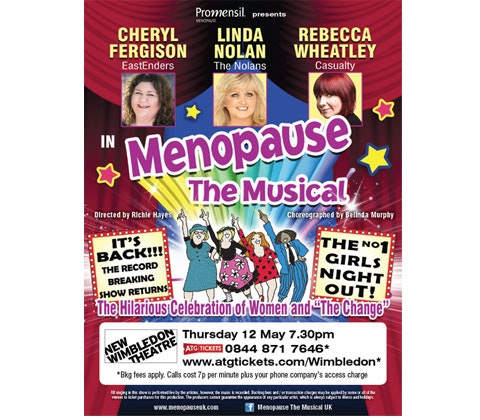 Menopause the Musical sweepstakes