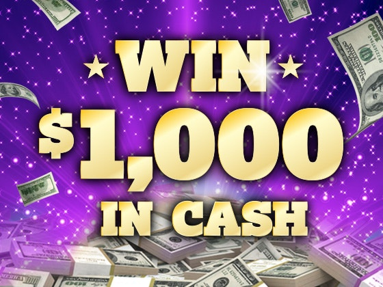 $1000 Cash Prize - May 2016 sweepstakes