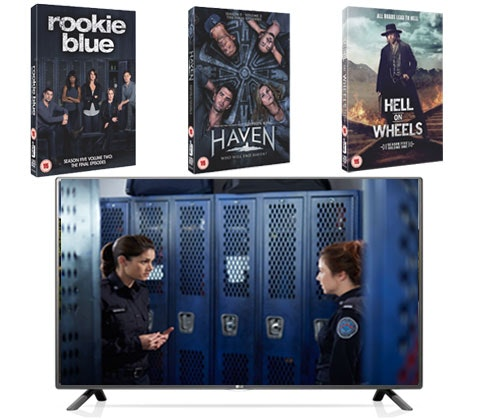 Win a LG HD TV and 3 DVD box sets sweepstakes