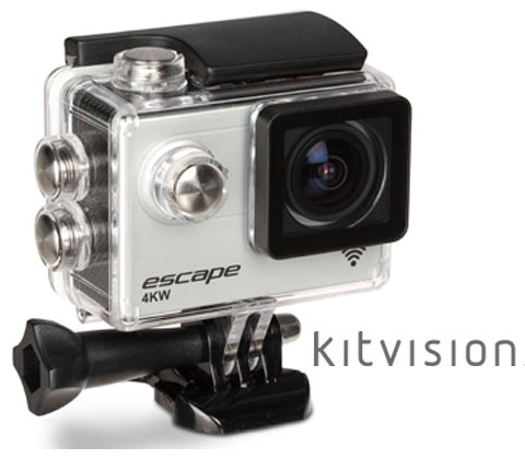 Win 3 x Kitvision Escape Action Cameras sweepstakes