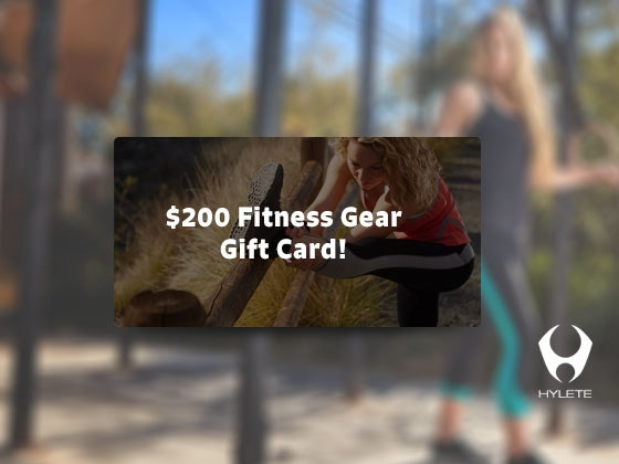 $200 HYLETE E-Gift Card sweepstakes