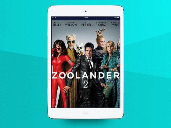 Zoolander 2 on Digital HD and an iPad Mini 2 sweepstakes