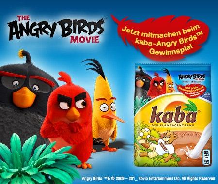 Angry Birds Kaba Fan Set gewinnen Gewinnspiel