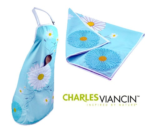Charles Viancin Daisy textile Sets sweepstakes