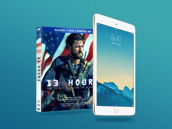 13 hours ipad mini giveaway