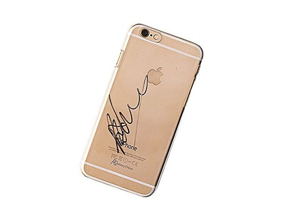 Rahart adams signed phone case