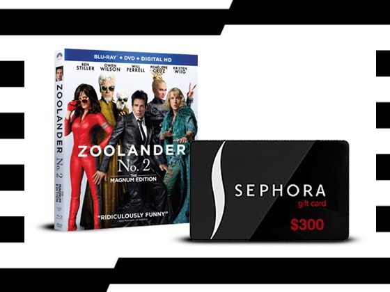 Zoolander 2 sephora giftcard giveaway