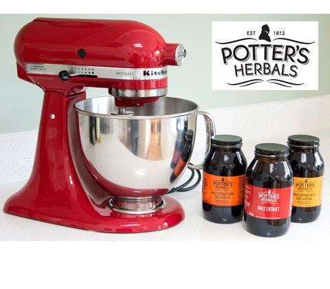 Potter's Herbals Malt goodies sweepstakes