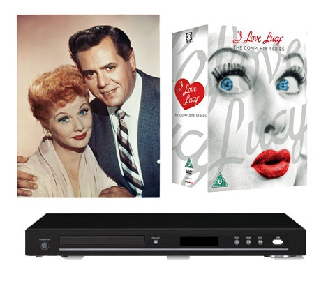 I Love Lucy Box sets sweepstakes