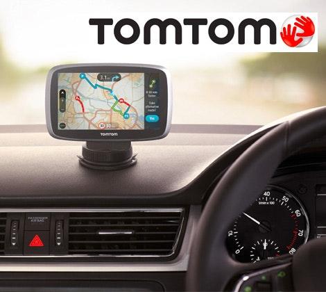 TomTom GO 510 satnavs sweepstakes