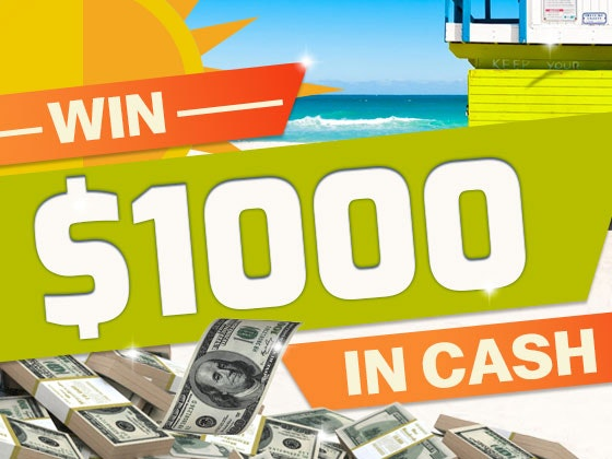$1000 Cash June sweepstakes