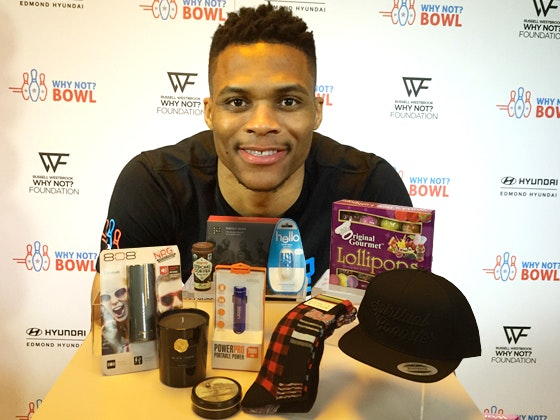 Russell westbrook giftbag giveaway 2016 1