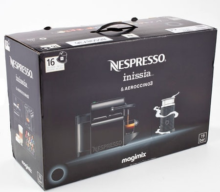 win a nespresso inissia coffee machine magic. Black Bedroom Furniture Sets. Home Design Ideas