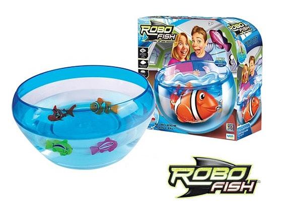 Zestaw Robo Fish Kula Akwarium + Rybka sweepstakes