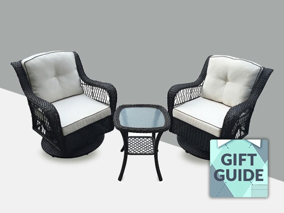 Win outdoor patio furniture from big lots for Outdoor furniture big w