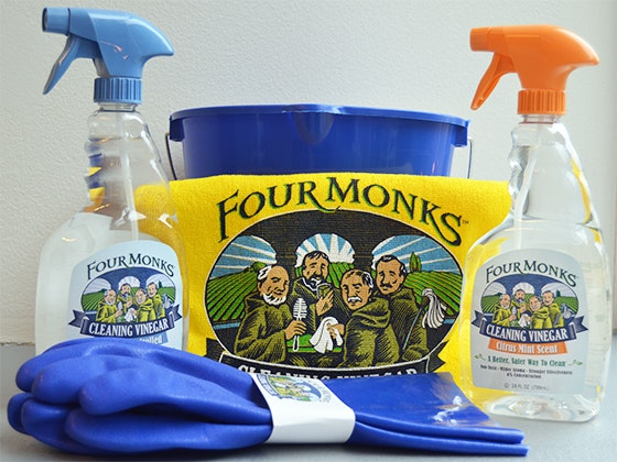 Four monks giveaway
