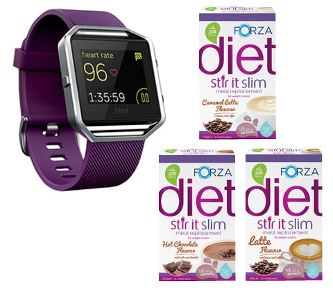 Fitbit fitness watch & Forza slimming goodies sweepstakes