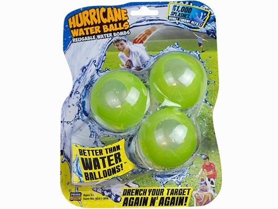 Hurricane water balls