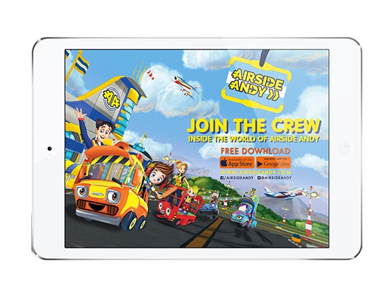 Airside Andy Game and iPad mini sweepstakes
