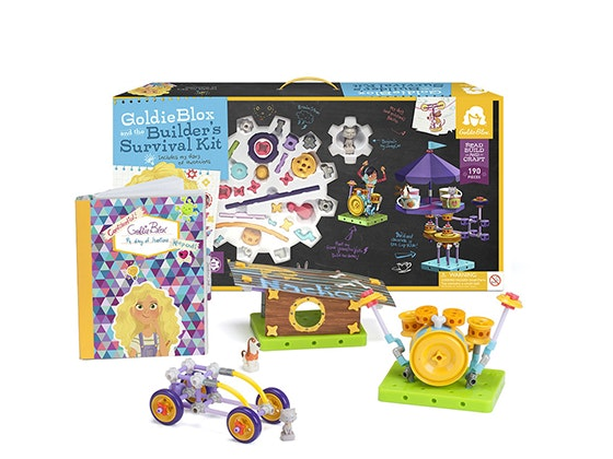 GoldieBlox builder survival kit sweepstakes