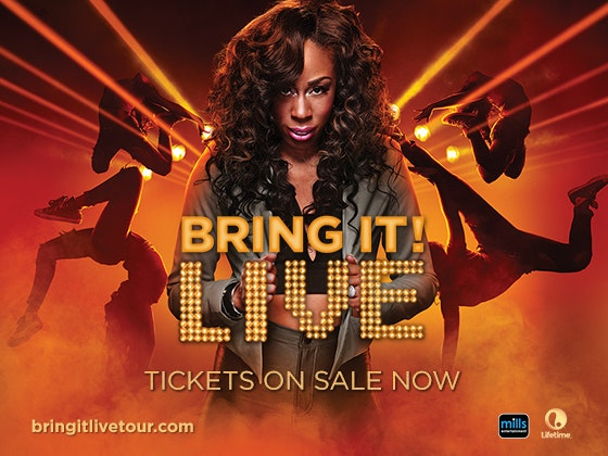 Trip to See the Bring It! Live Tour sweepstakes