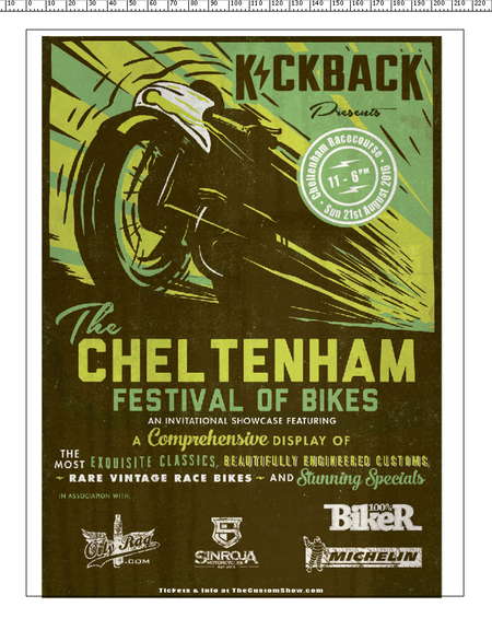 Tickets to the Cheltenham Festival of Bikes sweepstakes