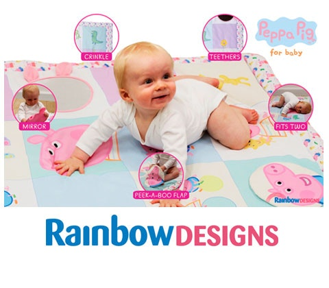 Win a Baby Tummy Time Activity Playmat sweepstakes