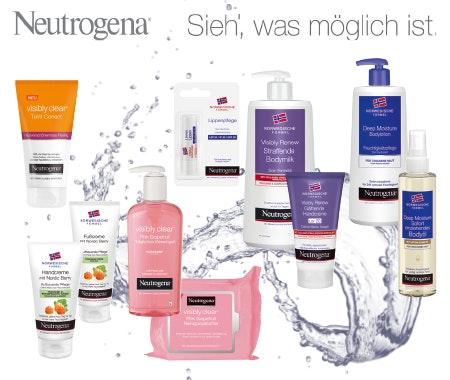 Neutrogena Beauty-Pakete gewinnen Gewinnspiel