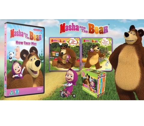 Win a Masha and The Bear Prize Bundle sweepstakes