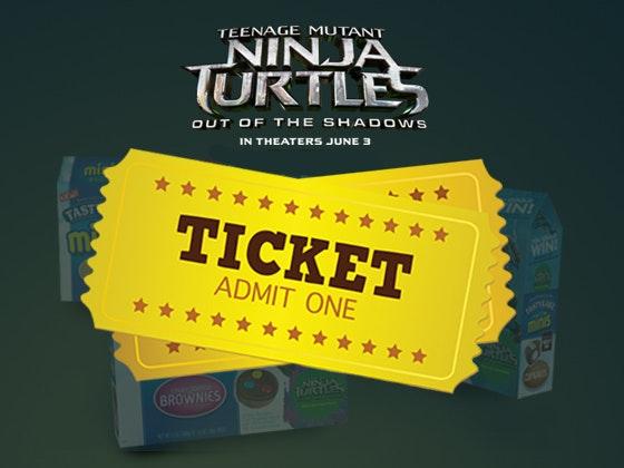 Cowabunga and Cakes Movie Night Prize Pack from Tastykake sweepstakes
