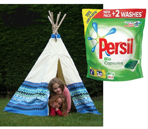 Win an Aztec Garden Tent plus a supply of Persil Mono Capsules sweepstakes