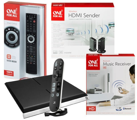 One for All smart TV and music accessories sweepstakes