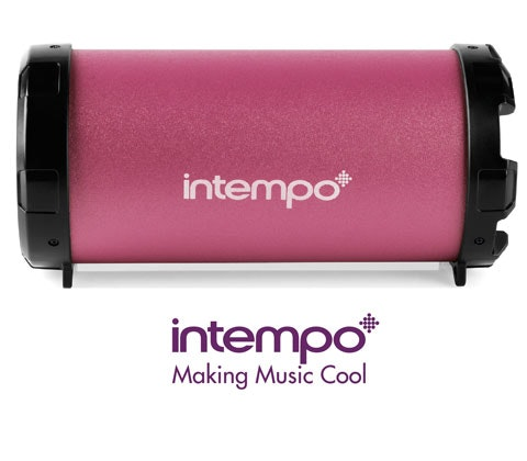 Intempo Tube Speaker sweepstakes