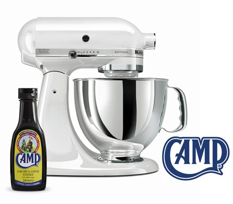 KitchenAid Artisan Mixer and Camp Coffee sweepstakes