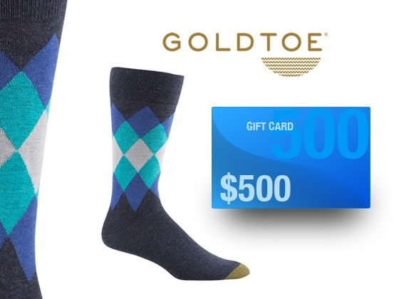 Gold Toe Father's Day Giveaway sweepstakes