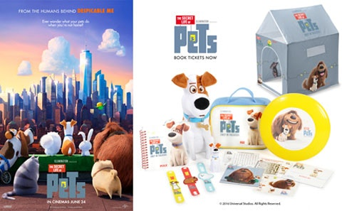 The Secret Life of Pets Merchandise! sweepstakes