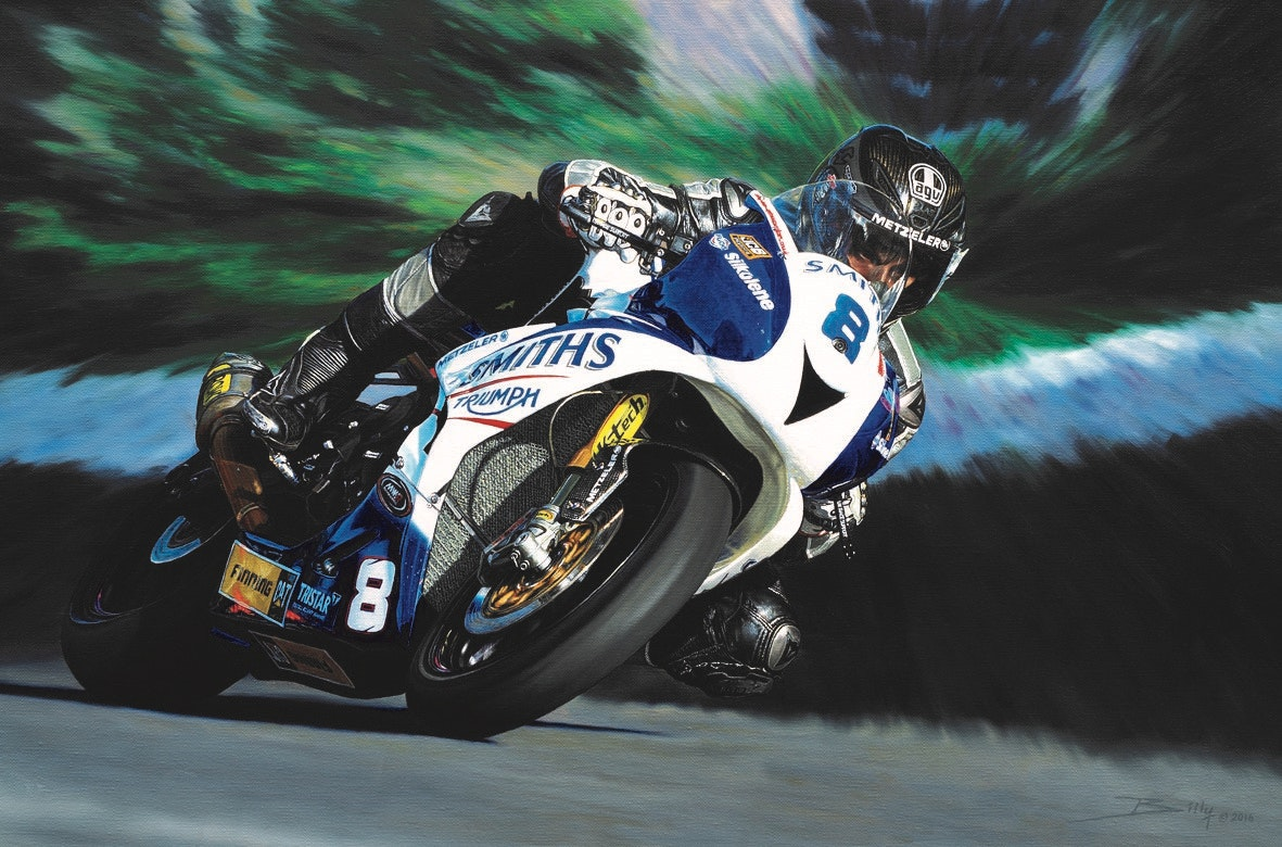 Win a limited edition print of Guy Martin sweepstakes