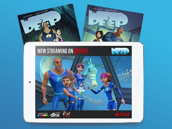 The Deep iPad Mini Giveaway sweepstakes