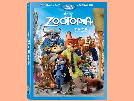 Zootopia bluray giveaway
