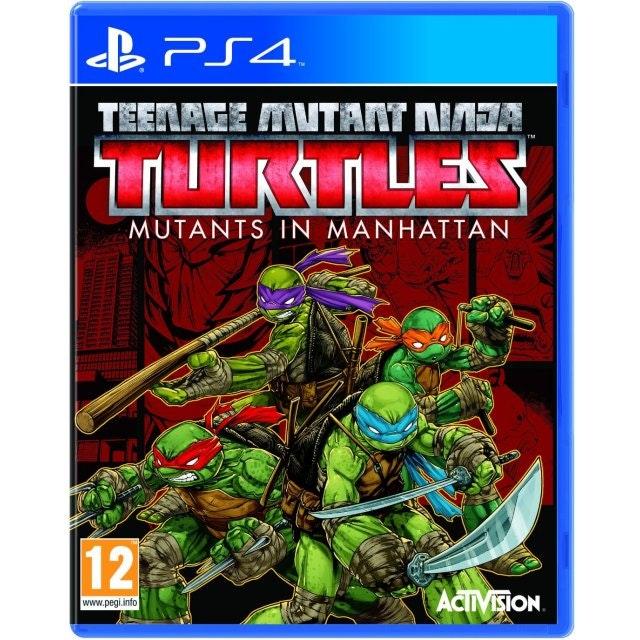 Teenage Mutant Ninja Turtles: Mutants in Manhattan PS4 game sweepstakes