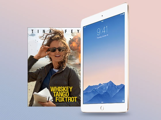 Whiskey Tango Foxtrot iPad Mini Giveaway sweepstakes