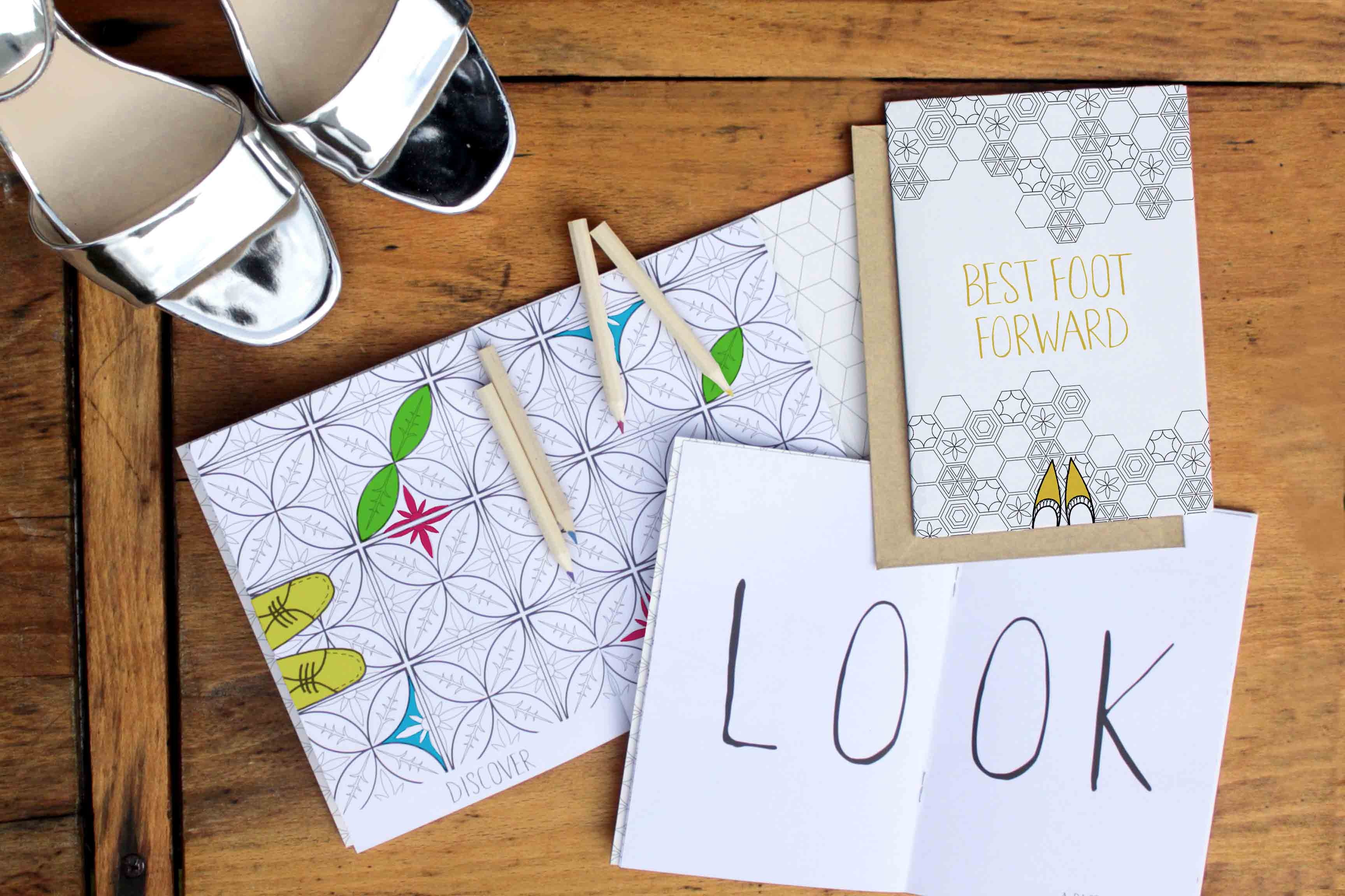 Cardooo's colouring in greeting cards sweepstakes