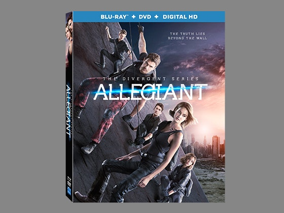 Allegiant movie prize package sweepstakes