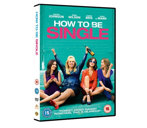 a How To Be Single DVD and Merchandise prize packs sweepstakes