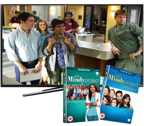 a Smart TV & The Mindy Project on DVD sweepstakes