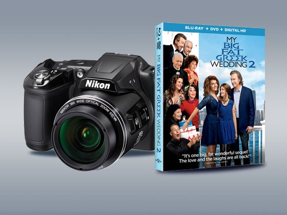 My Big Fat Greek Wedding 2 and a Digital Camera sweepstakes